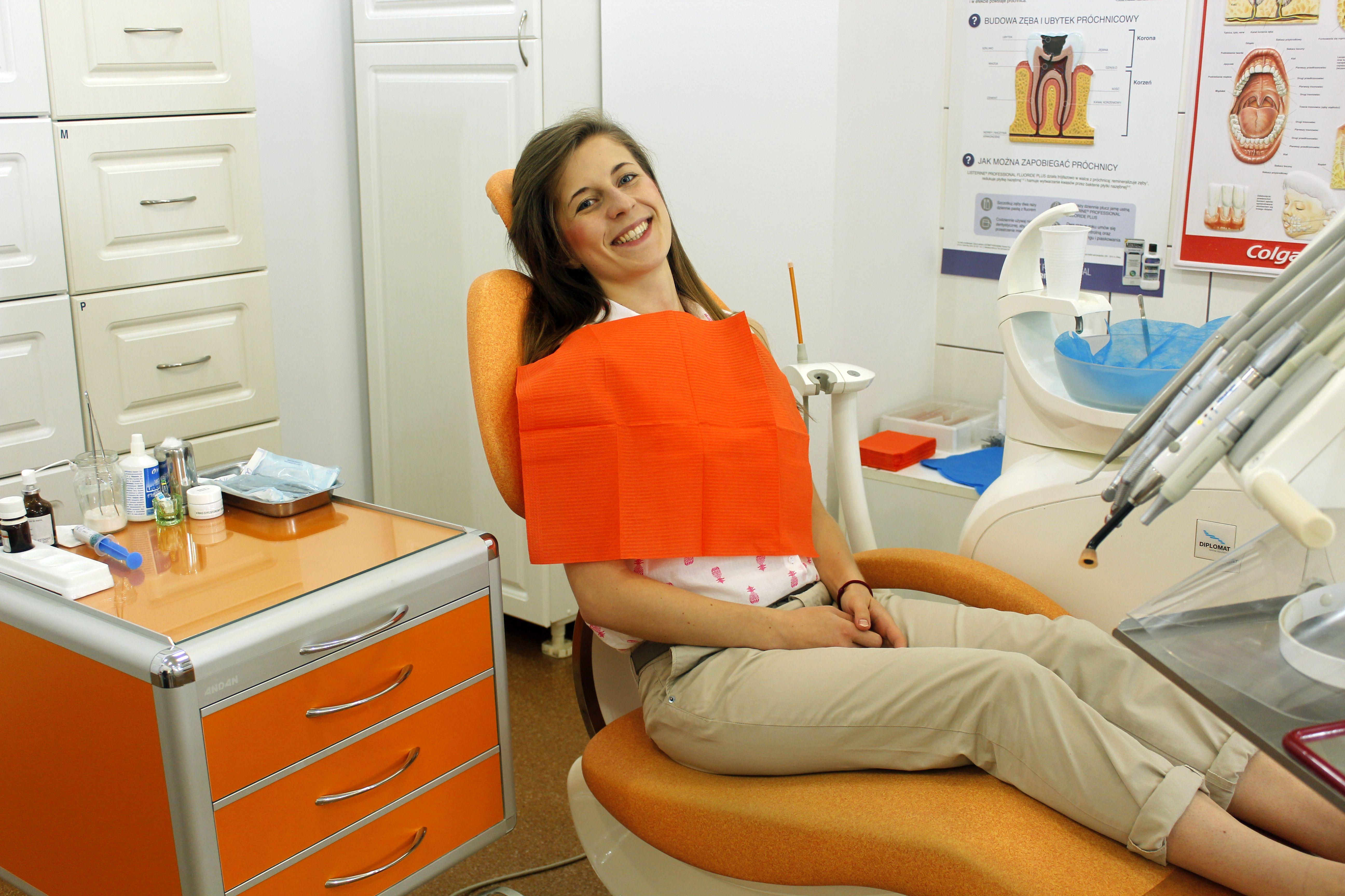 Uśmiechnięta Pacjentka